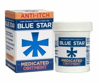 Blue Star Anti-Itch Medicated Ointment 2oz EXP 9/18