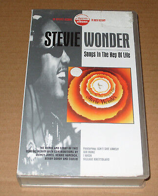 Classic Albums Stevie Wonder Songs In The Key Of Life VHS Video