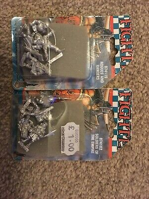 Games Workshop Citadel Rogues & Rangers, Soldiers Of The Empire metal warhammer
