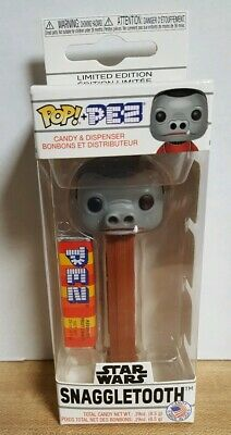 Funko  Pop Pez  Star Wars Snaggletooth  NEW IN HAND Mint in Box