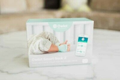 *NEW SEALED* Owlet Smart Sock 2 Baby Heart Rate & Oxygen Level Monitor
