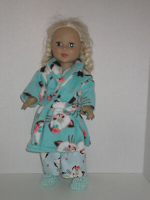 """Vintage Cat Pajamas for 18/"""" Doll Clothes American Girl"""