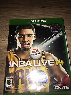 NBA Live 14 (Microsoft Xbox One, 2013) Brand New Factory Sealed