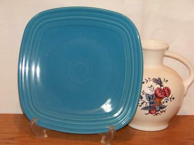 Fiesta® PEACOCK Square Dinner Plate - Discontinued Color