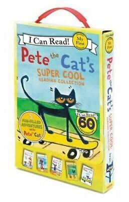 NEW Pete the Cat's Super Cool Reading Collection By James Dean Paperback