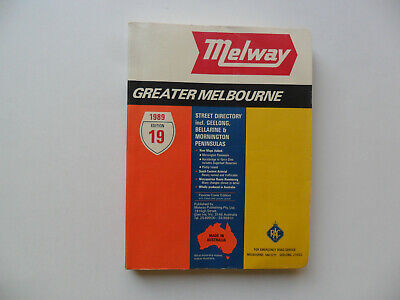 Melway 1989   Edition 19