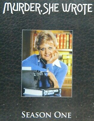 MURDER SHE WROTE The COMPLETE FIRST SEASON 18+ Hours 22 Episodes 6-Disc SEALED