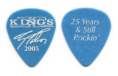 King's X Ty Tabor Signature Blue Guitar Pick - 2005 Tour