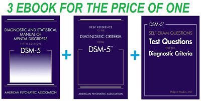 DSM-5 Diagnostic and Statistical Manual of Mental Disorders 5th Edition [EB00K]