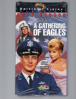 A Gathering Of Eagles Vhs Universal Home Video Rock Hudson Brand New & Sealed