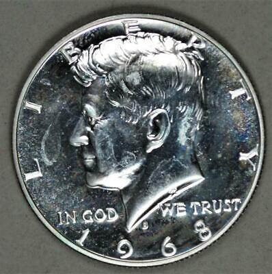 1968-S 40% Silver Kennedy Proof Half Dollar - Impaired