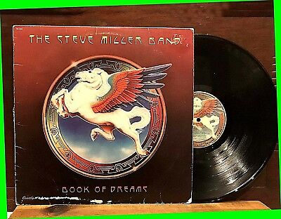 "Book Of Dreams by The STEVE MILLER BAND 12"" LP ORIG 1972 Capitol SO11630 Rock VG"