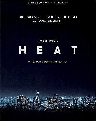 BLU-RAY Heat: Directors Definitive Edition (Blu-Ray) Robert De Niro, Al Pacino