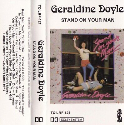 GERALDINE DOYLE Stand On Your Man - Cassette - Tape   SirH70