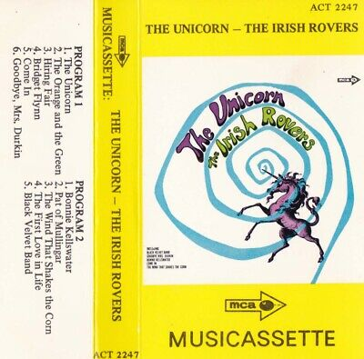 THE IRISH ROVERS The Unicorn - Cassette - Tape   SirH70