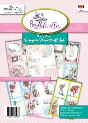 New Polkadoodles  A5 Paper Pack The Colour Of Spring