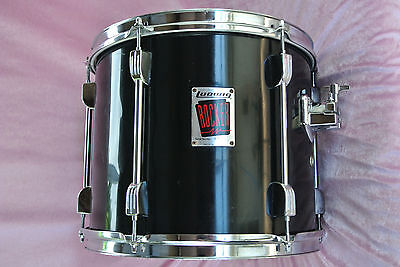 """ADD this Ludwig 13"""" ROCKER BLACK RACK TOM to YOUR DRUM SET TODAY! LOT #T977"""