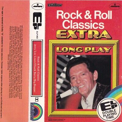 ROCK & ROLL CLASSICS Jerry Lee Big Bopper Chuck Berry - Cassette - Tape   SirH70