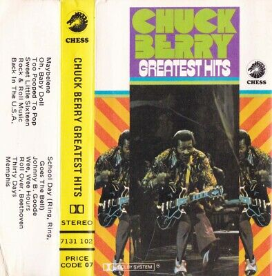 CHUCK BERRY Greatest Hits - Cassette - Tape   SirH70
