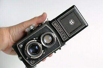 WAGOFLEX Japanese TLR - Rolleiflex copy - fully serviced ready to use! USER