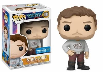 GUARDIANS OF THE GALAXY 2 Figurine STAR LORD EXCLUSIVE 261 FUNKO POP