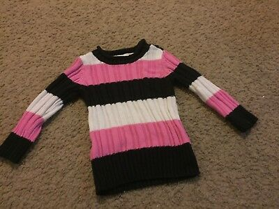 Nice girls size 12 months TCP The Children's Place striped sweater top shirt
