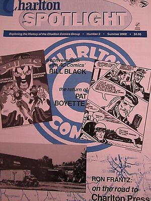 Charlton Spotlight 2-Comic Art Magazine-Charlton Comics-Pat Boyette-Bill Black