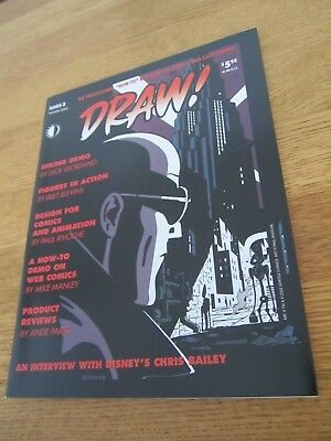 Draw #3-Comics Art Magazine-Chris Bailey-Disney-Design Comics and Animation