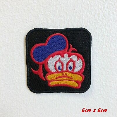 Donald Duck Cartoon Embroidered Iron Sew on Patch #1816
