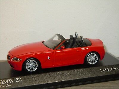 BMW Z4 Convertible 2002 - Minichamps 1:43 in Box *34533