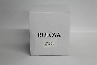 BULOVA Mens 96B251 UHF Chronograph Quartz Black Leather Strap 45mm Watch BNIB