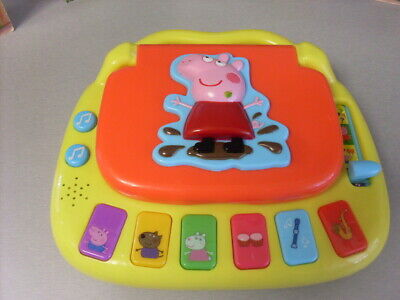 Peppa Pig My First Laptop Musical Educational Toy.
