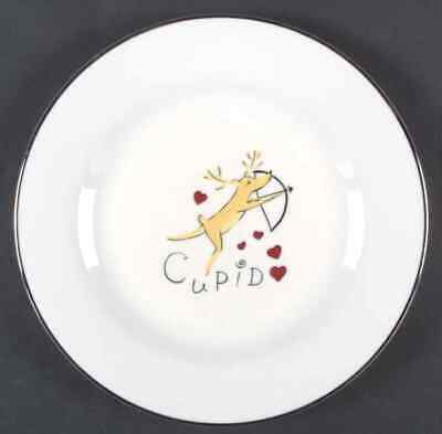 Pottery Barn REINDEER Cupid Dinner Plate 4641873