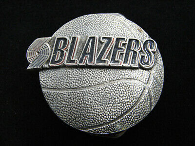 Rf09148 Vintage 1992 **Portland Trailblazers** Basketball Sports Belt Buckle
