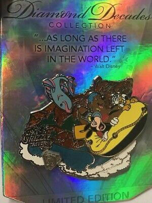Disneyland 60th Decades Collection Mickey Pluto Grizzly River Run Disney LE Pin