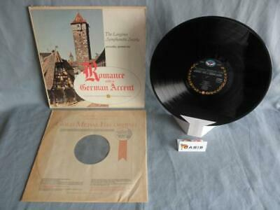 Romance with a German Accent - Longines Symphonette Society (Single LP)