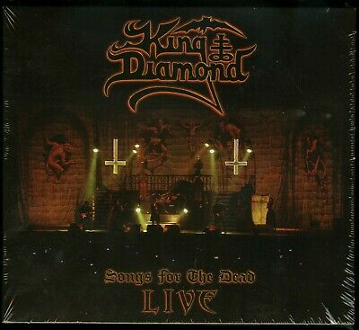 King Diamond Songs For The Dead Live 2 DVD + CD new digipack