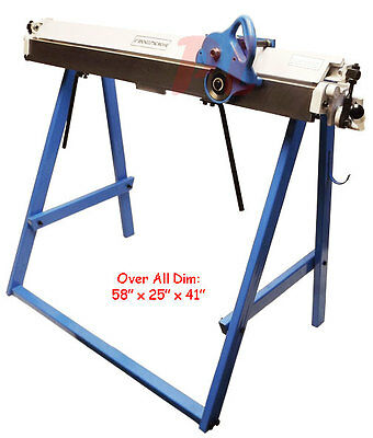 "40"" x 20 Gauge Sheet Metal BENDING BENDER CUTTING CUTTER Machine"