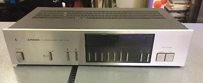Vintage Pioneer TX-720 Synthesized Stereo Tuner