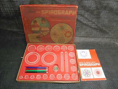Old Vtg 1967 KENNER'S SPIROGRAPH No. 401 COMPLETE Drawing Patterns  Game Toy