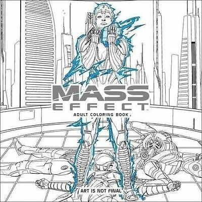 Mass Effect Adult Coloring Book (Colouring Books) by Bioware, NEW Book, (Paperba