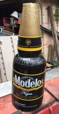 Modelo Negra Beer Inflatable Plastic Beer Bottle 30 Inches New Mexico Cerveza
