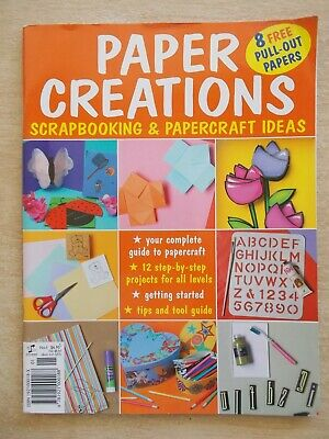 Paper Creations~12 Projects~34pp P/B~Attached pull-out Papers