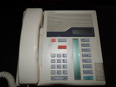 (2)Nortel/Norstar Meridian Business Phone M7208 Ash