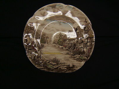 "Vintage Johnson Brothers Dinner Plate ""Olde English Countryside"" England VGC"