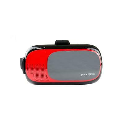 Kaiser Baas VR-X Headset Red 3D Virtual Reality Gaming Glasses Monitor