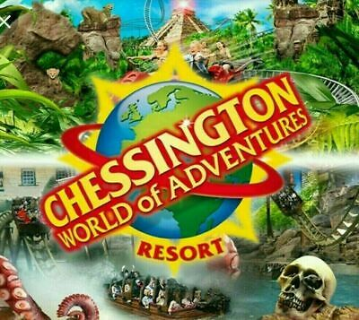 Chessington World of Adventures Resort Tickets x 2  8th July 2019 Monday