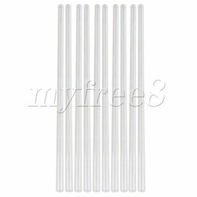 10PCS 30cm Length 1cm OD Glass Blowing Tube OD 10mm 1mm Thick Wall