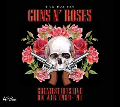 Guns N Roses - Greatest Hits Live-In Concert On Air 1989-1991 CD (4) Anglo  NEU