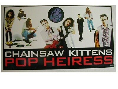 Chainsaw Kittens Poster The Promo